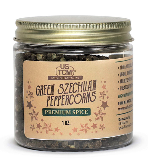 Green Szechuan Peppercorns 1oz