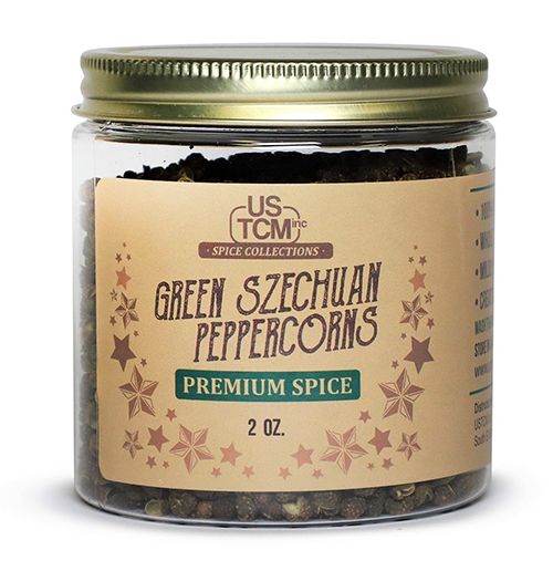 Green Szechuan Peppercorns 2oz
