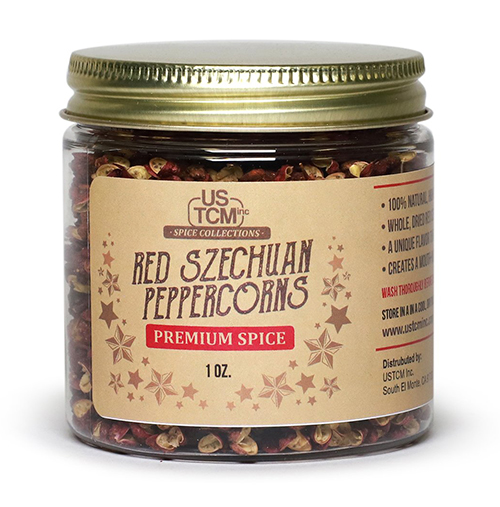 Red Szechuan Peppercorns 1oz