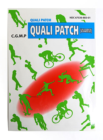 Quali Patch Warm 2 Patches