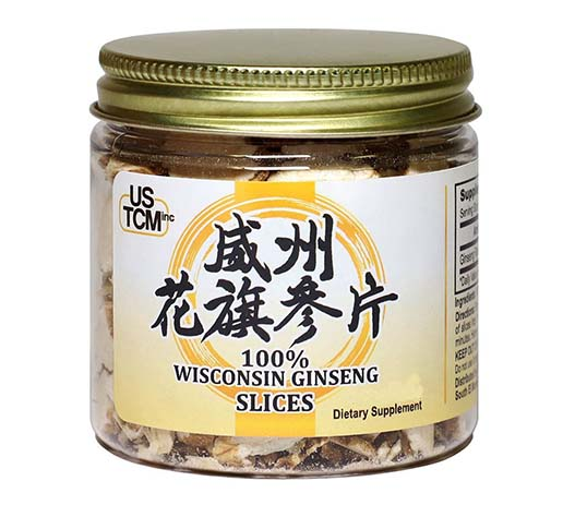 Wisconsin American Ginseng Slices 4oz