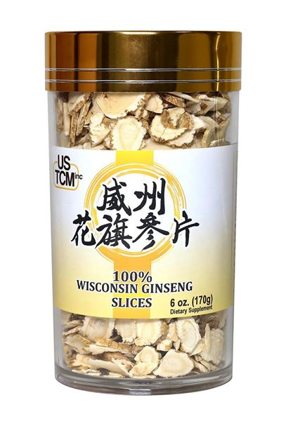 Wisconsin American Ginseng Slices 6oz